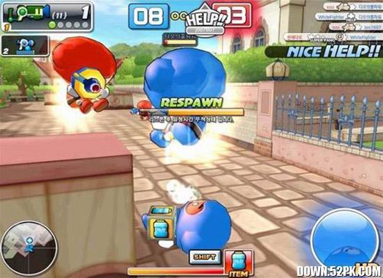 泡泡战士游戏截图4