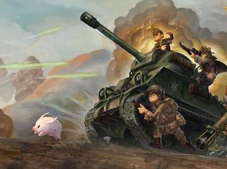 卡通世界大战免安装中文版下载