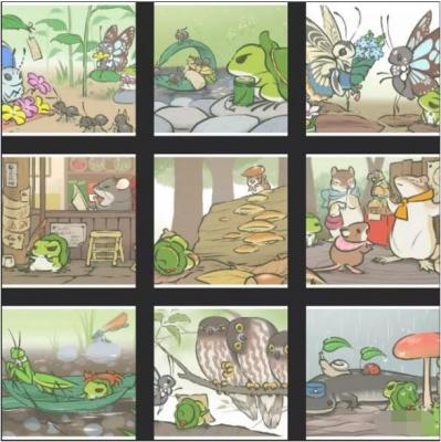 旅行青蛙稀有明信片有哪些 全稀有明信片一览