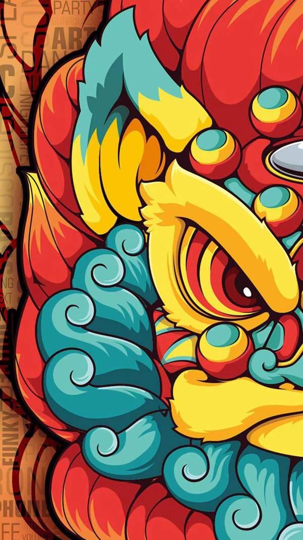 2019卡通狮王新年壁纸分享图片