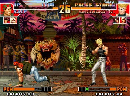 《拳皇97》电脑版